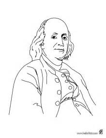 4th july coloring pages benjamin franklin
