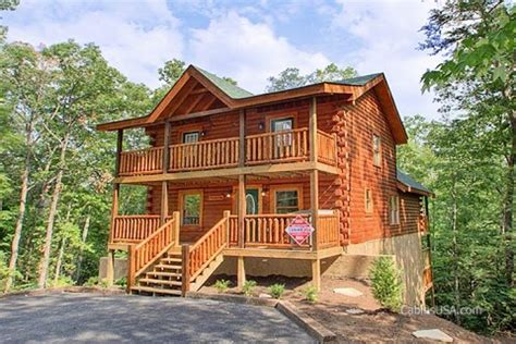 Cabins Gatlinburg Pigeon Forge Quot A Stay Quot 5 Bedroom Cabin Rental Cabins Usa