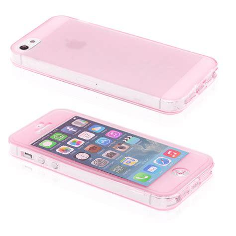 Silikon Bumper Apple Iphone 5 apple iphone 4 4s 5 5s tpu silikon schutzh 252 lle bumper tasche staubschutz ebay