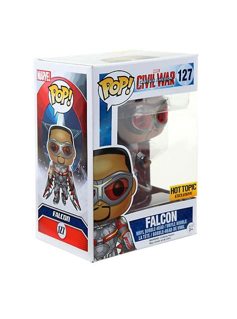 Funko Pop Tees Captain America Marvel Captain America 3 Civil War funko marvel captain america civil war pop falcon vinyl bobble topic