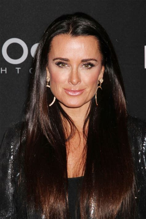 kyle richards hair extensions photo rhobh s kyle richards with platinum blonde hair
