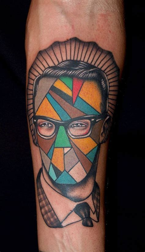 colorful geometric tattoos geometric original tattoos