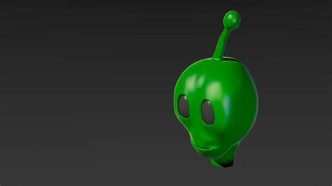 blender tutorial alien gurublog alienhead in blender