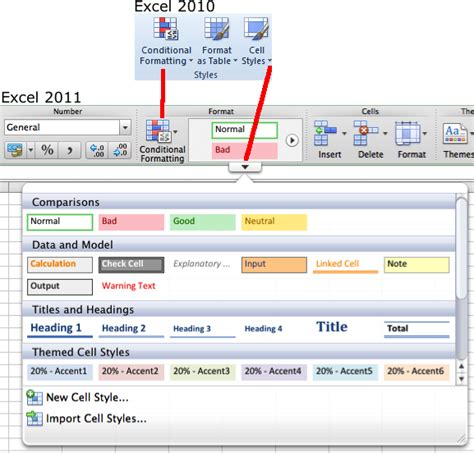 format excel tabs how to ribbon home tab comparison excel 2010 windows