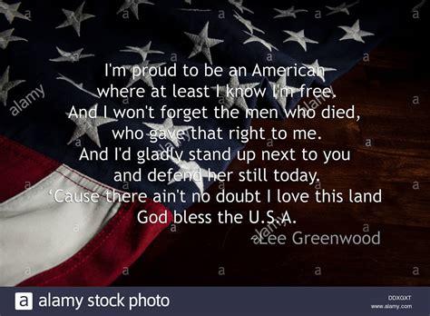 An American Lyrics Proud American Images