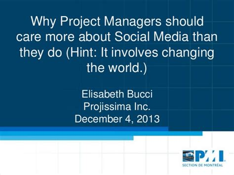 Do Project Managers Make More With An Mba by Why Project Managers Should Care More About Social Media