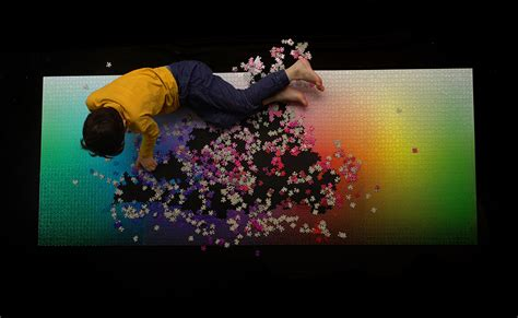 Cmyk Puzzle 5000 | a giant new 5 000 piece cmyk color gamut jigsaw puzzle by