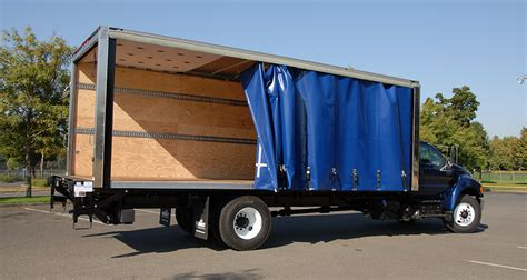 curtain side truck combo curtain side summit bodysummit body
