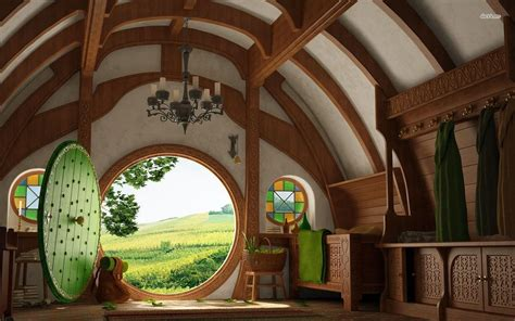 Hobbit House Designs | amazing hobbit house architecture interior design
