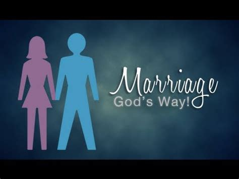 marriage god s way a biblical recipe for healthy joyful centered relationships books marriage god s way pt 1