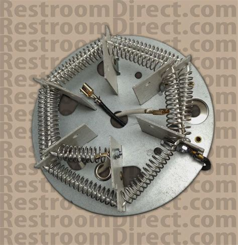 Hair Dryer Heating Element Voltage replacement heating element and thermostat for airspeed