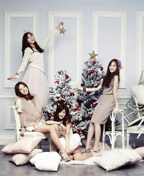 kpop theme christmas party a pink images apink xmas 2 wallpaper and background
