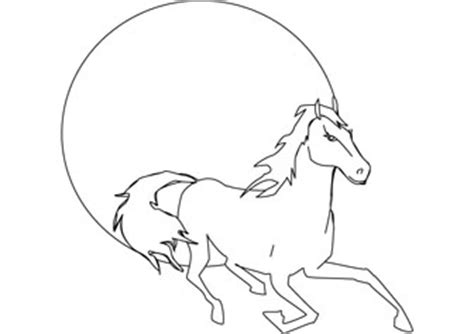 download free black beauty coloring page