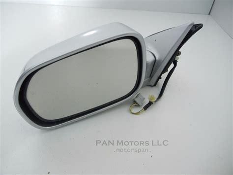 honda accord 1998 2002 driver side door mirror left rear