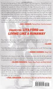 Lita Ford Living Like A Runaway Lita Ford Living Like A Runaway Kollectors Army