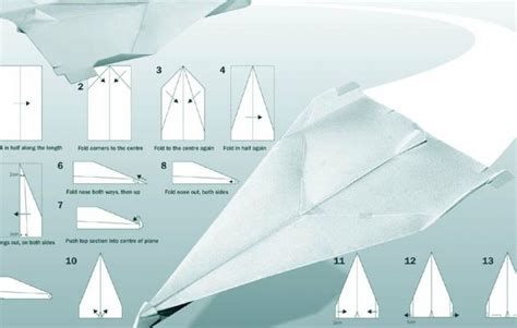 How To Make A Really Flying Paper Airplane - paper airplanes that fly far images