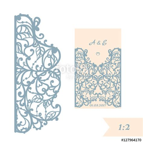 Silhouette Birthday Card Template by Quot Wedding Invitation Or Greeting Card With Abstract