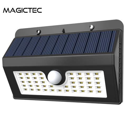 amazon wireless led lights magictec 45 led wireless solar motion security light pack