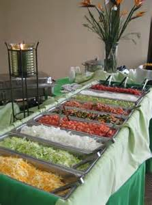 Backyard Taco Hours Neat Idea Taco Bar For The Reception Or Shower Easy