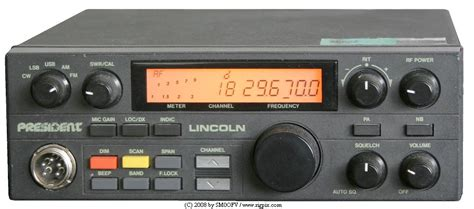 Modification Cb Radio by Rigpix Database Cb Quot Freeband Quot And More President Lincoln