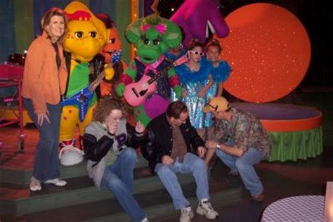 image behind the scenes barney.jpg | barney wiki