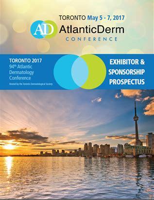 sponsorship prospectus template exhibitor sponsor 2017 atlantic derm