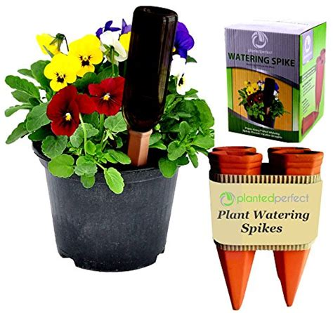 Planter Irrigation System by Planter Vacation Watering Automatic Self Water