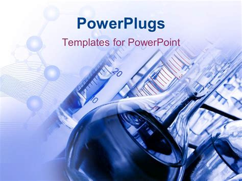 templates powerpoint laboratory powerpoint template laboratory with chemicals and test