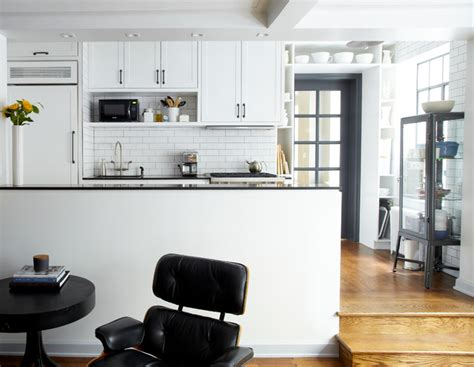 art deco kitchen houzz art deco apartment combination renovation industrial