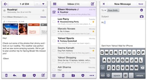 yahoo email not updating on iphone iphone iphone yahoo mail not updating