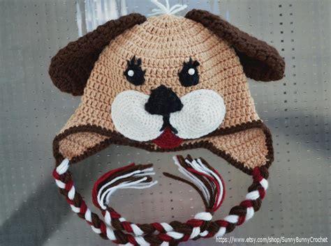 crochet puppy hat puppy hat newborn baby hat boy beanie by caron craftsy