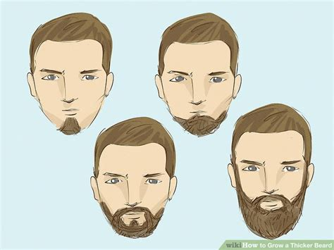 3 ways to grow a thicker beard wikihow simple ways to grow a thicker beard wikihow