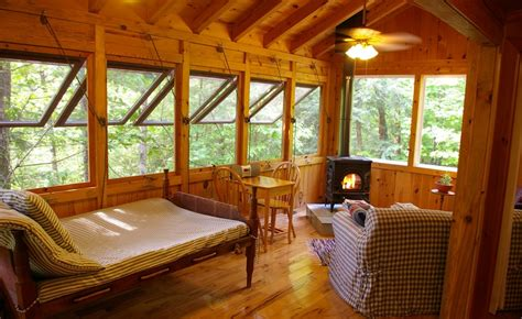 asheville bridge room flying bridge log cabin the cottages at house farm