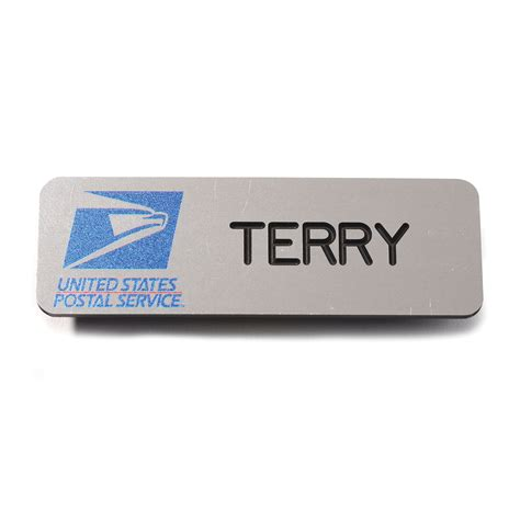 printable employee name tags usps window clerk name badge qb postal