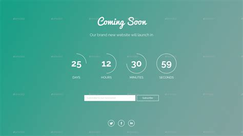 by the sea comingsoonnet gradient coming soon psd template by rixross graphicriver