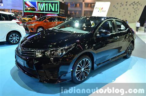 Change Car Upholstery 2014 Toyota Corolla Altis Esport Showcased At Thailand