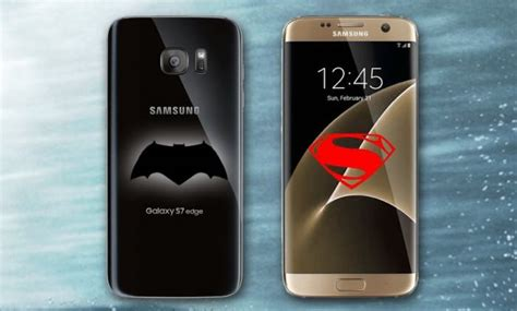 Superman Vs Batman Y0196 Samsung Galaxy S7 Flat Custom samsung galaxy s7 batman v superman editions in the works