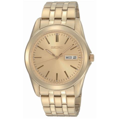 seiko s gold plated bracelet h samuel