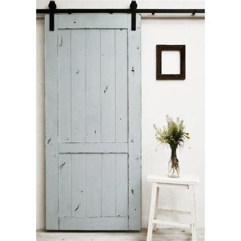 36 Inch Sliding Closet Doors Dogberry Country Vintage 36 X 82 Inch Barn Door With Sliding Hardware System 17638236