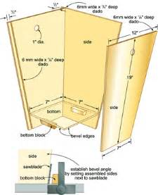 Inside Cabinet Garbage Can Wood Trash Can Holder Plans Easy Diy Woodworking