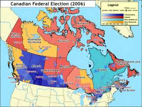 electoral map of canada file canada election 2006 v2 png wikimedia commons