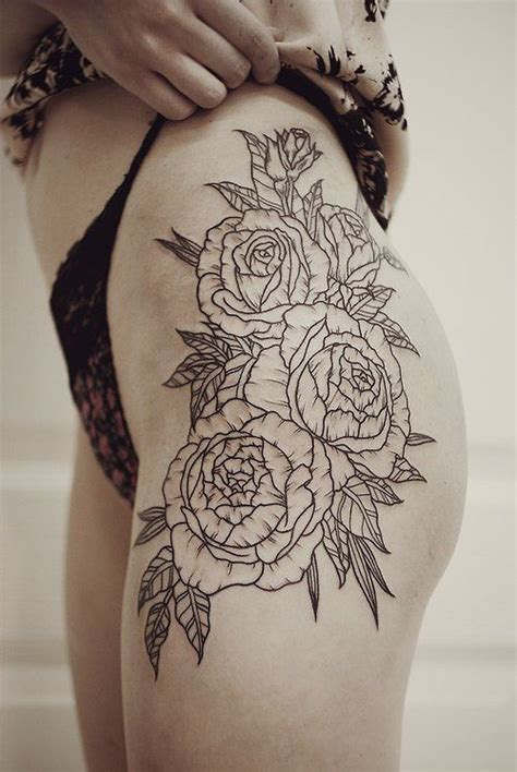 20 Thigh Tattoo Designs For Every Woman Pretty Designs Tattoos For Thighs Designs