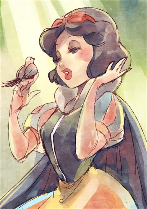 painting snow white snow white by umintsu on deviantart