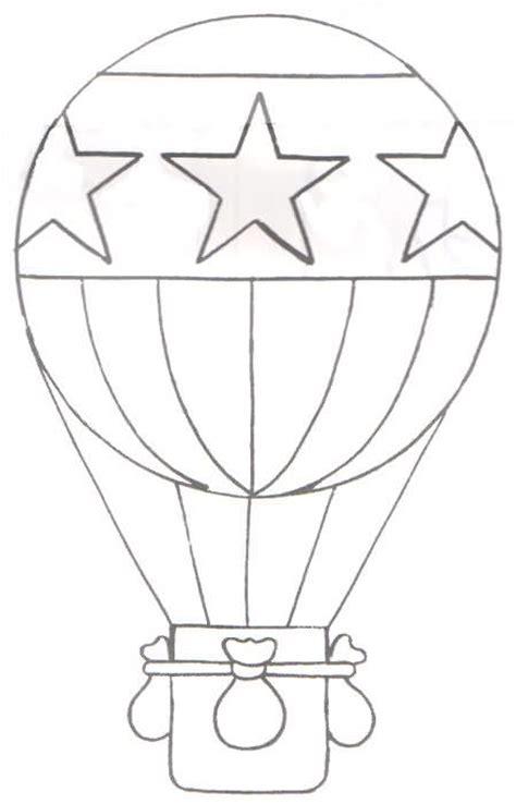 globo aerost 225 tico dibujalia dibujos colorear elementos objetos del entorno