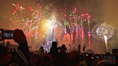 new years in disney world 2015 in the sky fireworks 2015 new year s fireworks