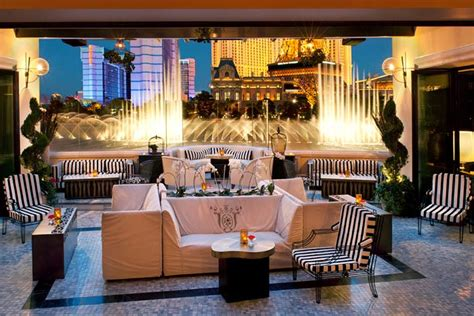 roof top bars las vegas hyde bellagio an outpost of sbe s hyde opened in las
