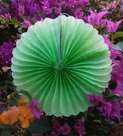 Tissue Paper Ceiling Decorations by 8 Quot Light Lime Tissue Paper Pinwheel Decoration 6 Pack