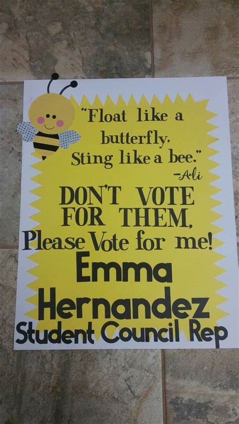 good campaign poster ideas for student council poster images