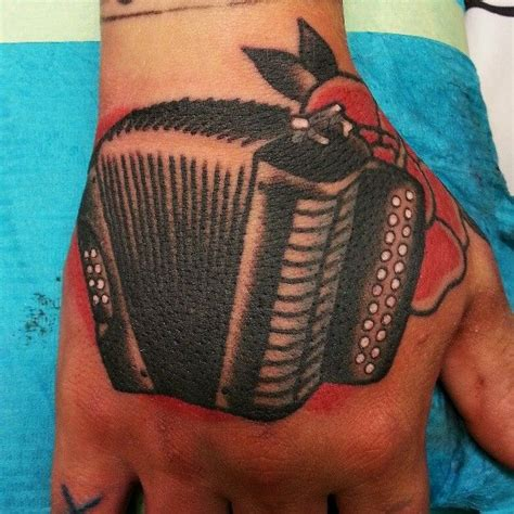 accordion tattoo accordion by hexa salmela tattoos that are