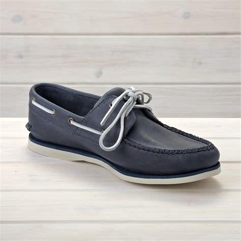Boat Shoes by Timberland Classic Boat Shoe Blue Shoes From The